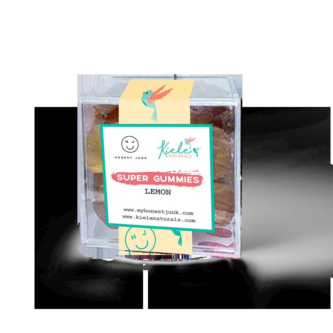 Honest Junk x Kiele: Lemon Super Gummies